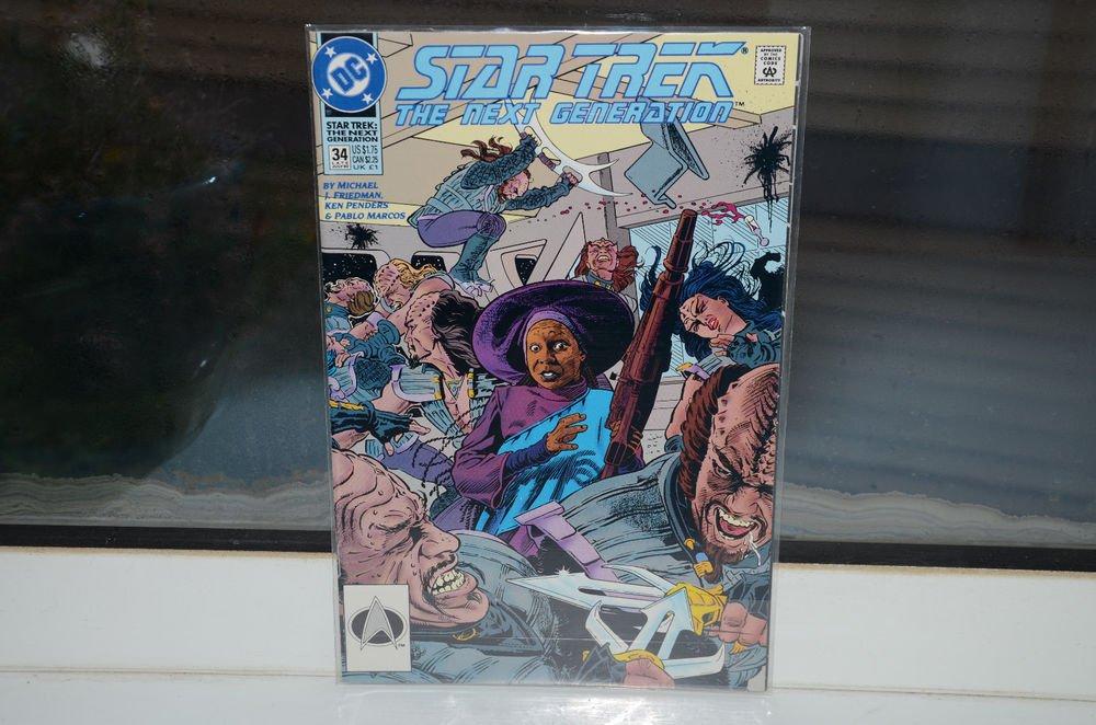EUC Star Trek The Next Generation DC Comic Book 34 LATE Jul 92 July 1992