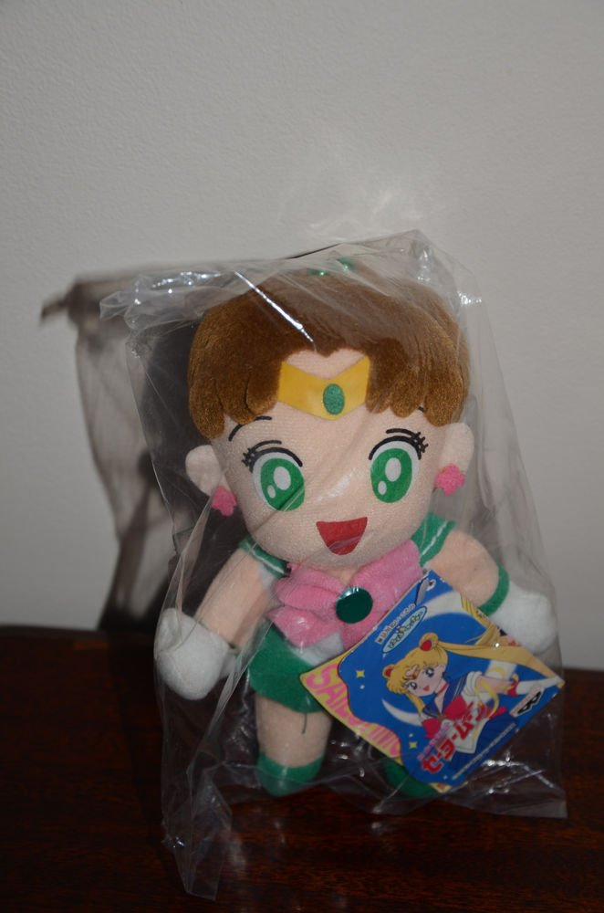 NWT NEW Sailor Moon Sailor Jupiter plush doll plushie Banpresto 1994 stuffed toy