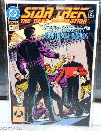 Star Trek The Next Generation DC Comic Book 47 Jun 93 The Worst of Both Worlds!