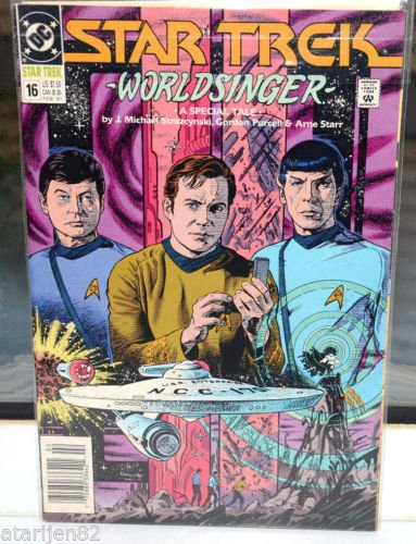 EUC Star Trek DC Comic Book 16 Feb 1991 WorldSinger World Singer A Special Tale