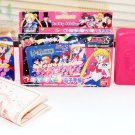 Sailor Moon Photo Kyara Denshi Techou Bandai 94 electronic calculator phone book