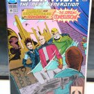 Star Trek The Next Generation DC Comic Book 38 LATE Sept 92 Schemes Conclusion