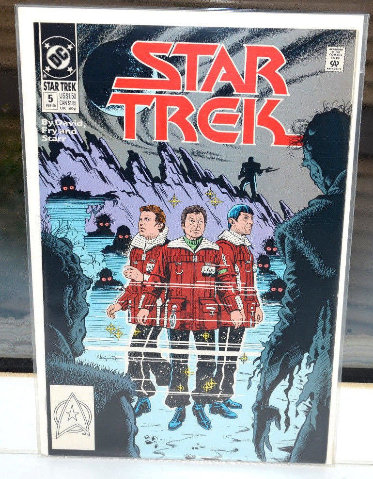 EUC Star Trek DC Comic Book 5 Feb 1990 vintage collectible