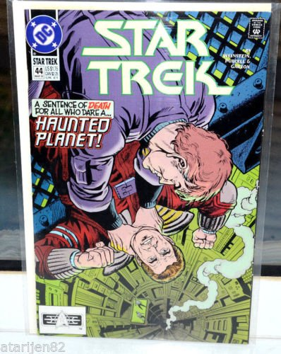 EUC Star Trek DC Comic Book 44 Mar 1993 Haunted Planet! vintage collectible