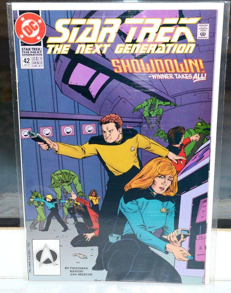 Star Trek The Next Generation DC Comic Book 42 Jan 93 Showdown Winner Takes All