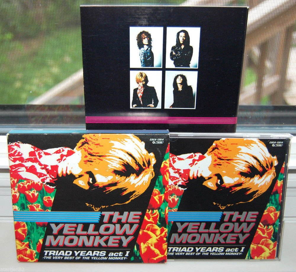 the very best of The Yellow Monkey Triad Yeats act 1 music cd 1992 - 1996 jpop