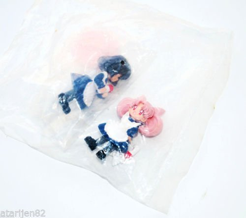 NEW Sailor Moon Hotaru Rini Saturn Chibiusa Chibimoon gashapon figure toy Japan