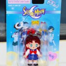 New 2000 Irwin Sailor Moon Power clip on keychain key ring Molly Naru schoolgirl