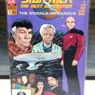 EUC Star Trek The Next Generation DC Comic Book 1 The Modala Imperative