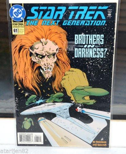 EUC Star Trek The Next Generation DC Comic Book 61 Jul 94 Brothers in Darkness?