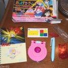 Oshiete Sailor Moon locket compact shokugan MINT box Luna pen Japan Bandai TKTT
