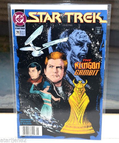 EUC Star Trek DC Comic Book 71 May 95 collectible vintage The Klingon Gambit