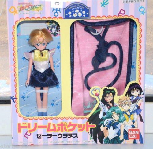 NEW Sailor Moon Stars SailorStars Sailor Uranus dream pocket doll Bandai 1996