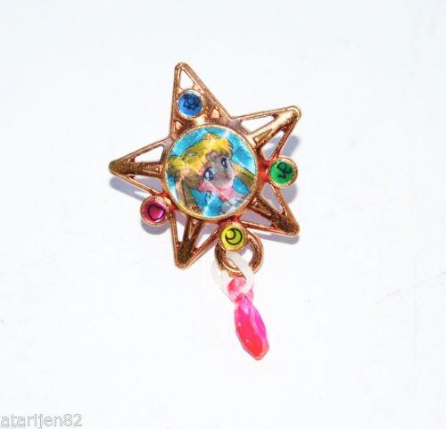 Sailor Moon 1990's Princess Serena star shaped metal ring made in Japan Japanese