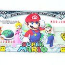 Super Mario Brothers vintage USA one million $1,000,000 dollar bill fake money