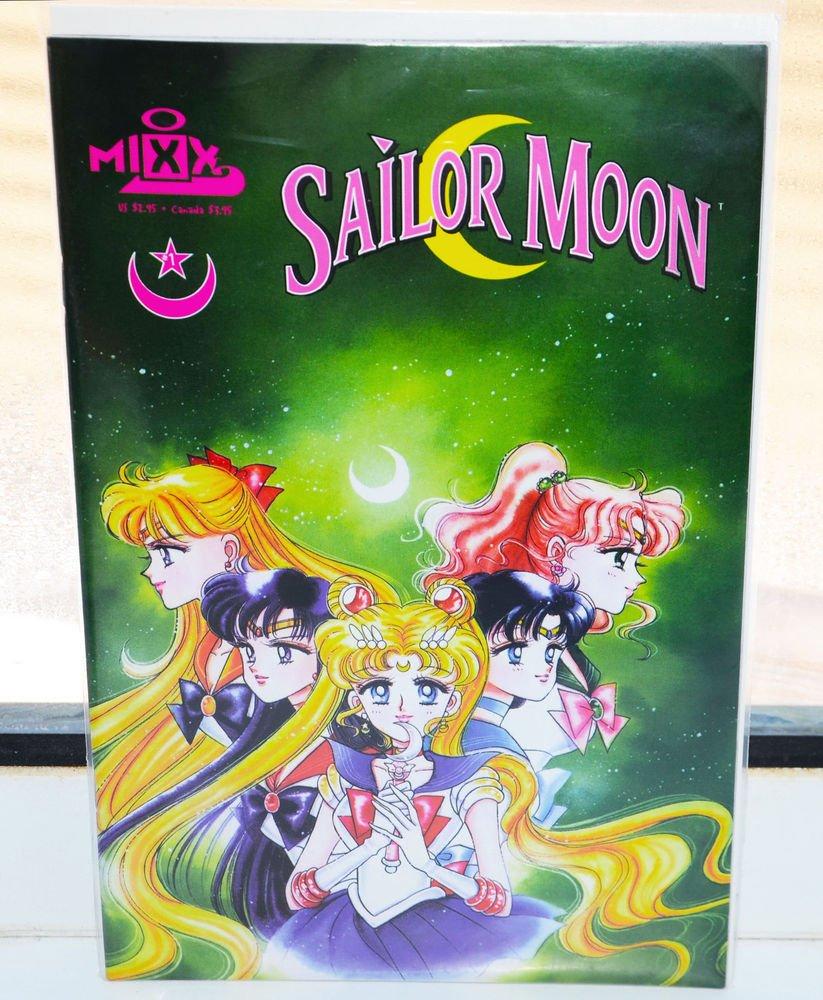 BRAND NEW Mixx Sailor Moon comic 1 manga Naoko Takeuchi Sailormoon girl english
