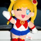 1994 Banpresto Sailor Moon plush doll plushie stuffed toy wink wave anime japan
