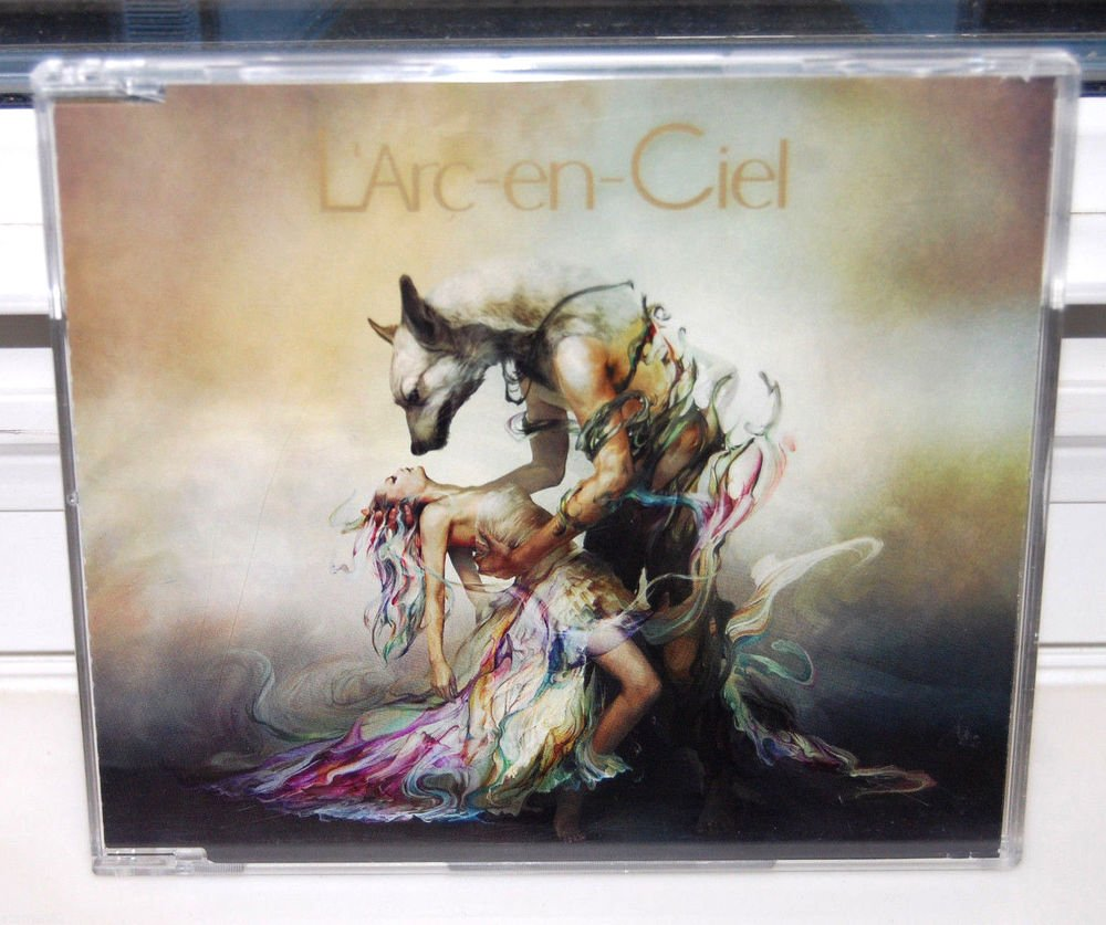 L'arc en Ciel Chase CD single Japan import sony japanese authentic jpop jrock