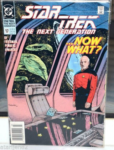 EUC Star Trek The Next Generation DC Comic Book 17 Mar 91 ...Now What?