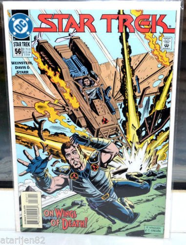 EUC Star Trek DC Comic Book 56 Jan 94 On Wings of Death! vintage collectible