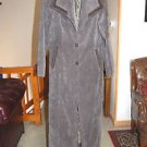 extra small jilbab dark green jacket trench coat made in jordan 00 0 EUC modest