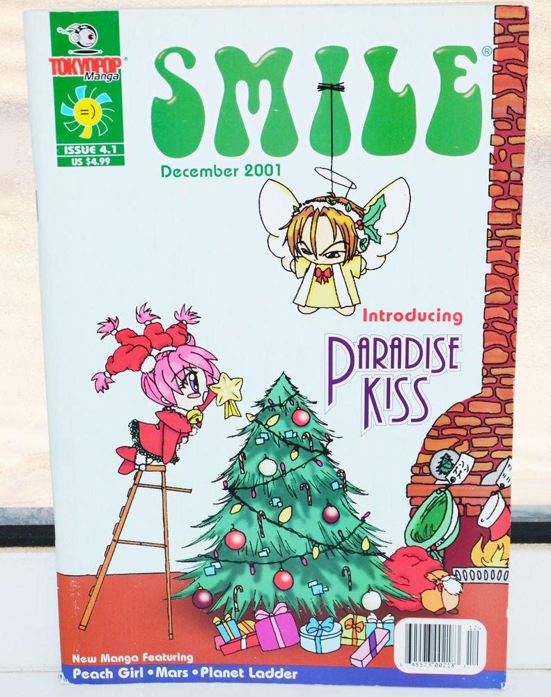 Smile Magazine Tokyopop Manga 4.1 December 2001 Peach Girl Comic Paradise Kiss