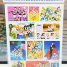 Sailor Moon huge sticker sheet
