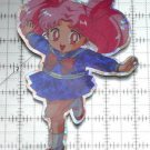 Sailor Moon large prism sticker prismatic Rini Chibiusa Chibimoon decal