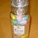 Vintage bar soap set Glass apothecary Bottle Corsage Lander 5th Ave Guest Soap