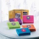 COLORFUL FLOWER WALLET