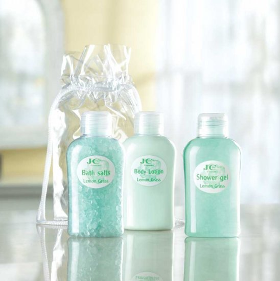 3-PC. MINI BATH GIFT SET - LEMONGRASS