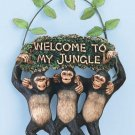 WELCOME TO MY JUNGLE SIGN