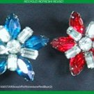 SuomynonaCouture Recycled Vintage Rhinestone Brooch Pin