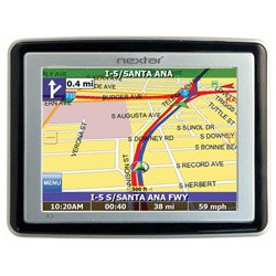 NEXTAR X3-02 3.5� SLIM GPS NAVIGATION SYSTEM WITH MP3 PLAYER