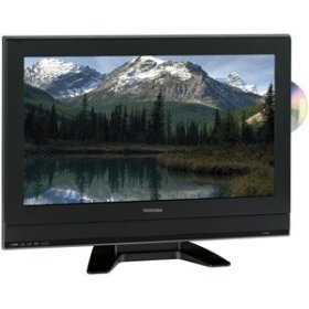 "Toshiba 23HLV87 23"" LCD HDTV with Built-In DVD Player"