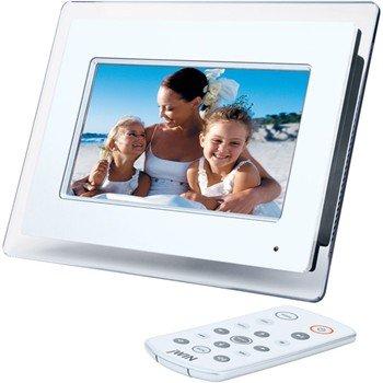 "jWIN JP147 7"" Diagonal Digital Photo Frame with MP3 Player"