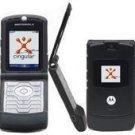 MOTOROLA RAZR V3 ULTRA THIN UNLOCKED GSM QUABAND CAMERA CELL PHONE - BLACK