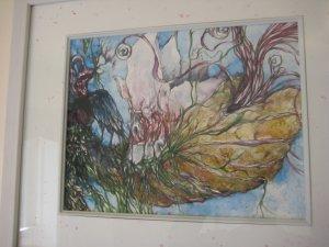 original contemporary watercolor