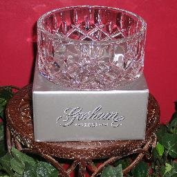 Real Lady Anne Crystal Bottle Coaster/ Candy Dish