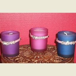 """BLING"" CANDLE GIFT SET"