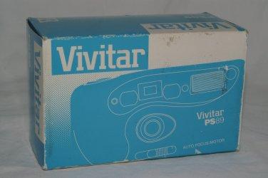 Vivitar PS89 35mm film autofocus panorama camera 32 mm f/4.5 lens