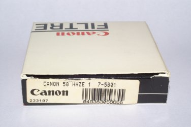 Canon Haze 1 58 mm filter