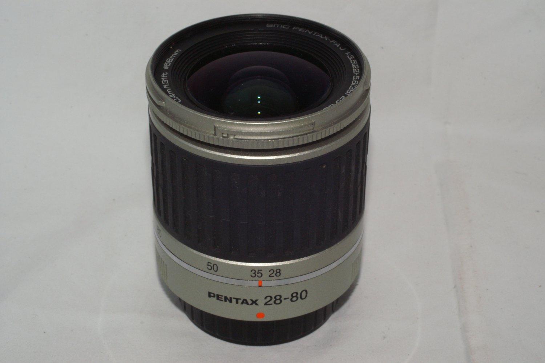 SMC Pentax FA J 28-80mm F3.5-5.6 AL autofocus zoom lens
