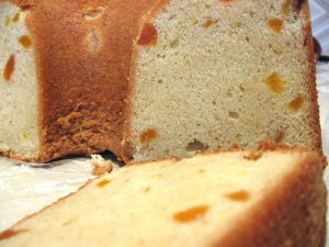 The Cheesecakery's Apricot Pineapple Pound Cake