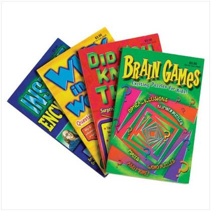 Eager Mind Activity Books