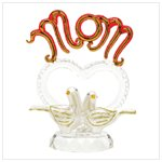 Mom Glass Doves Figurine