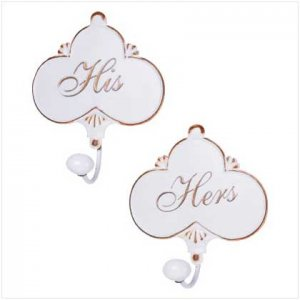 His �N Hers Towel Hangers