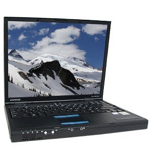 COMPAQ  EVO N610C P41 8GHZ 256MB DVD/CDRW ENET56K