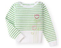 Gymboree Tip Toe Tulip Sweater ~ Size 5 ~ EUC
