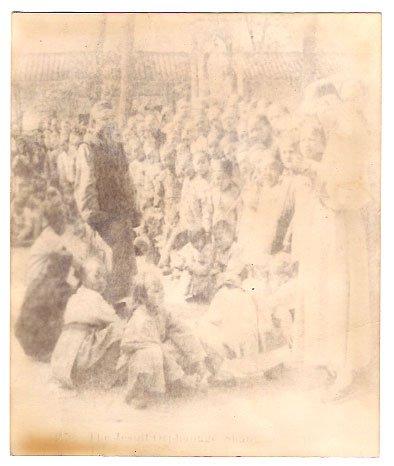 Real Photo of the Jesuit Orphanage, Shanghai, China - 1901